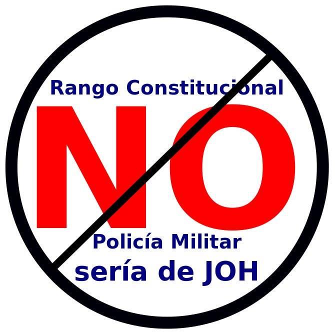 NO RANGO CONSTITUCIONAL PM