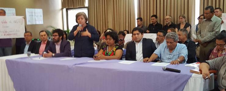 El asesinato de Bertha Cáceres es responsabilidad del Estado: Coalición contra la Impunidad