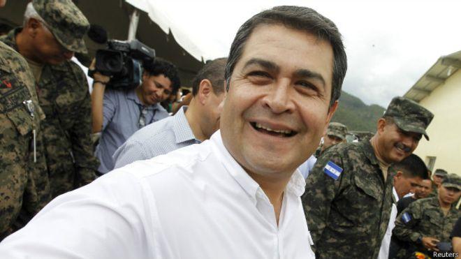 El presidente de Honduras reconoce financiación fraudulenta