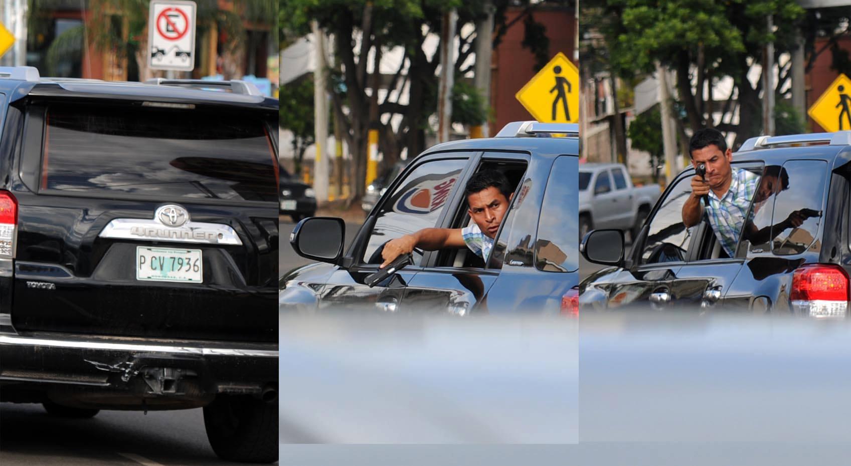 Identifican desconocido que disparó a hondureños del Frente Nacional de Resistencia Popular