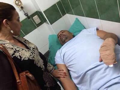 Atentan contra el regidor capitalino del partido LIBRE Rafael Barahona