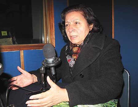 """Bertha Oliva: """"En Honduras hay persecución y odio contra la mujer"""""""