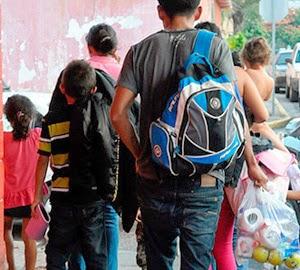 México deporta 85 hondureños, entre los que se encuentran 52 menores de edad