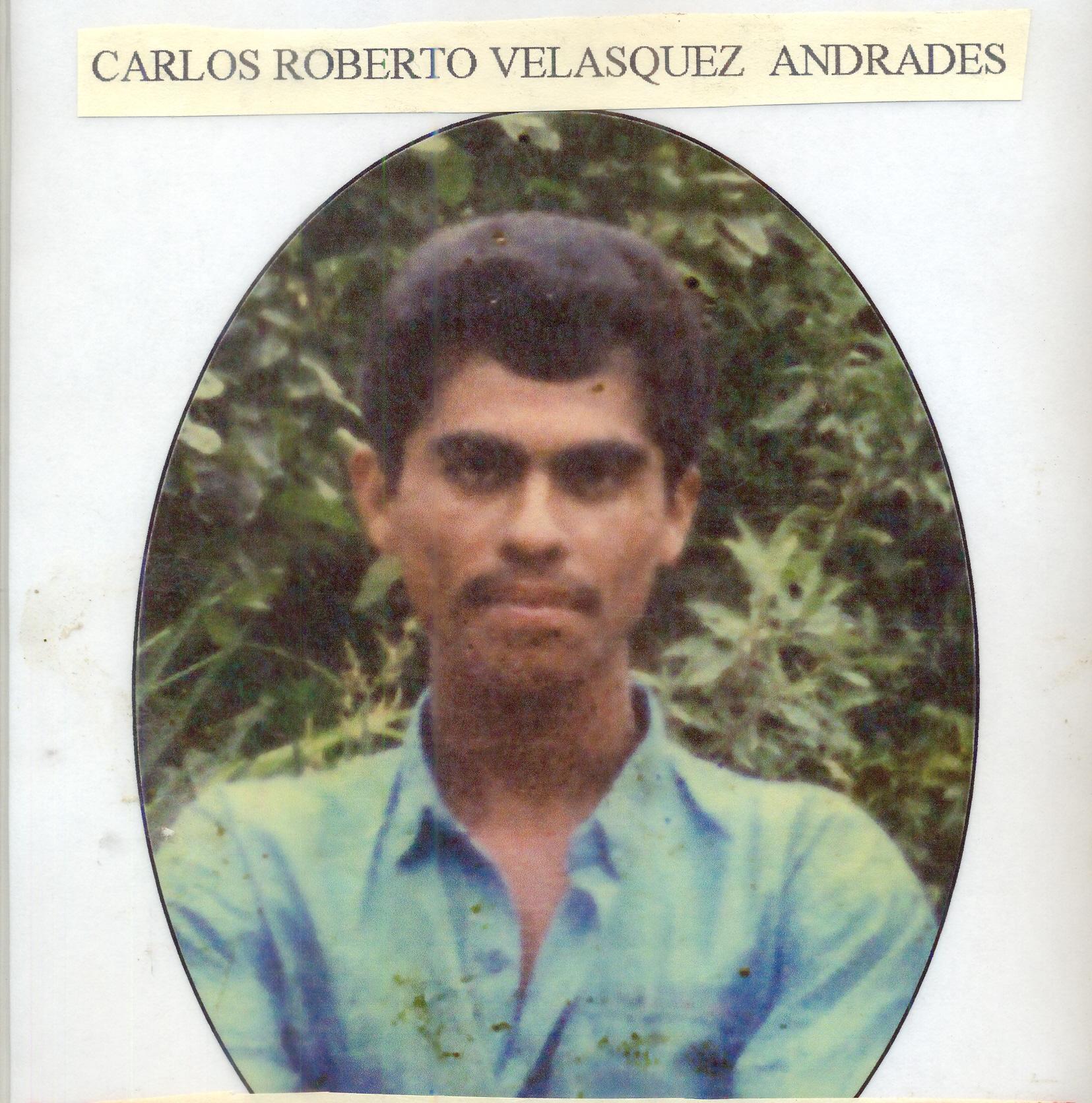 Carlos Roberto Velásquez Andrade