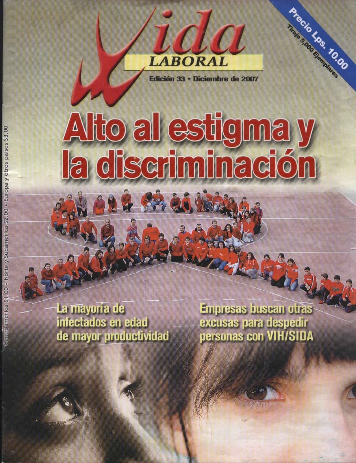 PortadaRevista33tx02149.jpg-Alto al estigma y la discriminación - Diciembre 2007