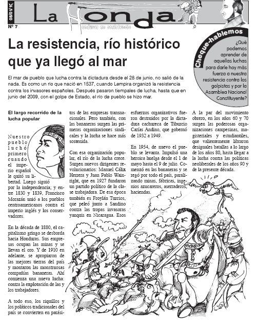La Honda # 7 : La resistencia, río histórico que ya llegó al mar