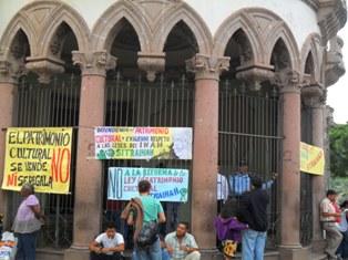 EL SINDICATO DEL IHAH DEFIENDO CON ARDOR Y GALARDÍA EL PATRIMONIO CULTURAL HONDUREÑO