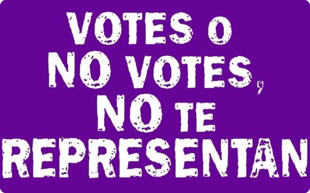 No votar