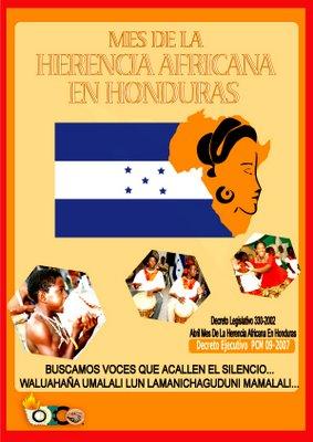 Mes de la Herencia Africana en Honduras 2010
