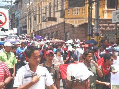 Organizaciones internacionales llaman a Ministerio Público cesar la persecución penal de manifestantes