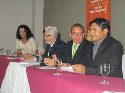 Juristas internacionales abordan cuestionado proceso de elección de magistrados a la CSJ