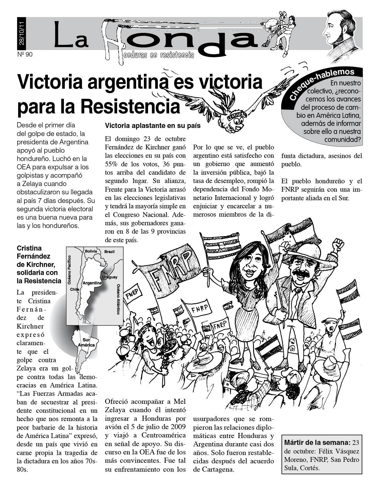 La Honda 90 :Victoria argentina es victoria para la Resistencia