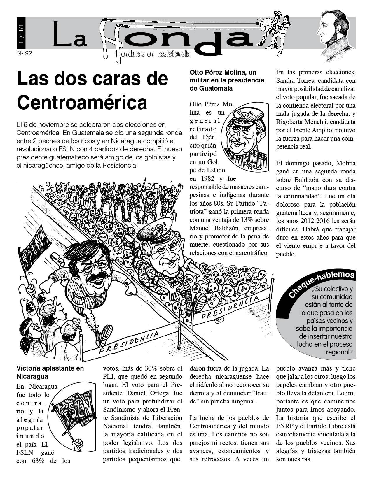 La Honda 92: Las dos caras de Centroamérica