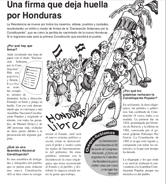La Honda # 23 :  Una firma que deja huella por Honduras