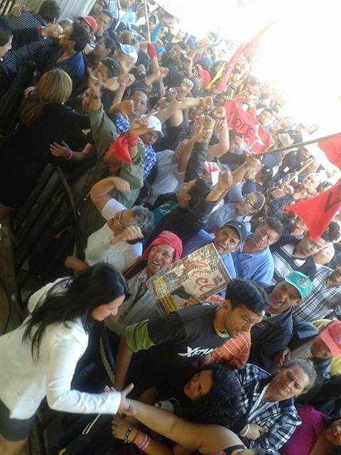 FNRP protesta junto a Libre por la imposición de la Junta Directiva del Congreso Nacional