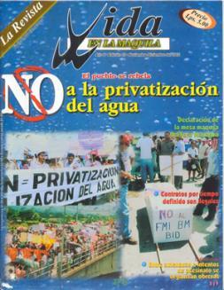Edición 10: NO a la privatización del agua