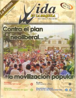 Edición 11: Contra el plan neoliberal… La movilización Popular