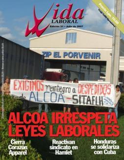 Edición 31: ALCOA Irrespeta Derechos Laborales- Edición Julio 2007