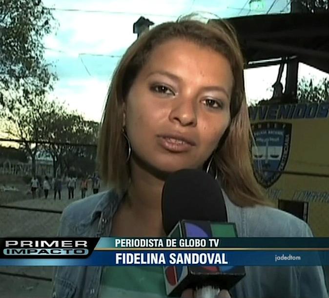Atentado contra Fidelina Sandoval, periodista de Radio Globo