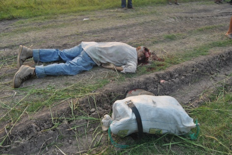 Dos muertos en masacre de guardias de la compañía Azucarera Hondureña contra campesinos que exigen tierras